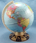 Click here to enlarge image and see more about item TE2177: Ohio Art Globe � Zodiac Base