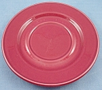 Homer Laughlin � Under-Plate � Cinnamon, Maroon