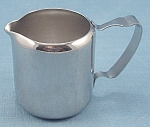 Click here to enlarge image and see more about item TE2190: Gemco – Stainless Steel – Individual Creamer / Condiment Server / Syrup Pitcher