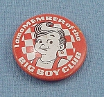 Advertising Pin � Big Boy Club � Big Boy Restaurant / Frisch�s