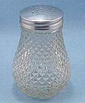 Click to view larger image of Crystal, Diamond Point, Glass Sugar Shaker (Image1)