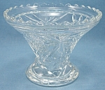 Anchor Hocking Glass Co. - Early American Prescut – Base/Stand