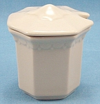 Syracuse China – Mustard / Condiment Container - 1963