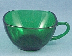 Charm � Forest Green Cup � Anchor Hocking