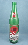 Click here to enlarge image and see more about item TE2367: 1973 � 7-Up � Commemorative Bottle � Cincinnati Bengals