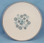 Flintridge China Co. – Shadows – Blue Floral – Bread & Butter Plate