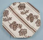 J & G Meakin -  Lotus –  Liberty Shape – Plate, B&B