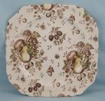 Click to view larger image of Johnson Brothers � Autumn�s Delight �Square Salad Plate	 (Image1)