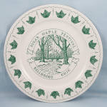 Click to view larger image of Sugar Maple Festival- Bellbrook, Ohio � Commemorative Plate � 1987 (Image1)