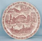 Click to view larger image of Vernon Kilns – Collector/ Souvenir Plate- Virginia (Image1)