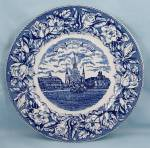 Click to view larger image of Staffordshire Ware - Souvenir/ Collector Plate- Jackson Square, New Orleans, Louisiana (Image1)