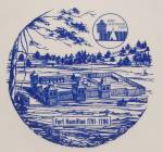 Click to view larger image of  Fort Hamilton 1791-1796 - Collector/ Souvenir Plate (Image4)