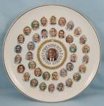 Click to view larger image of 1789- 1977 � Presidents Plate, Featuring Jimmy Carter (Image1)