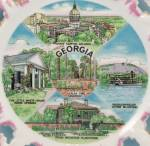 Click to view larger image of  State Of Georgia – MIJ - Collector/ Souvenir Plate (Image3)