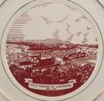 Click to view larger image of  Catlettsburg KY. Centennial – 1849-1949 Collector Plate (Image3)