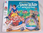 Click to view larger image of Walt Disney's Snow White and the Seven Dwarfs Game, Milton Bradley, 1992 (Image2)