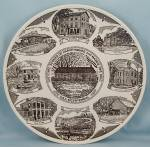 Click to view larger image of Harveysburg & Massie Twp., Ohio Bicentennial, 1976 � Collector Plate (Image1)