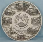 Fayetteville, Ohio/ Centennial, 1968 � Collector Plate
