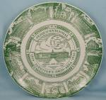 Click to view larger image of Jamestown, Ohio - Sesquicentennial, 1816-1966 � Collector Plate (Image1)
