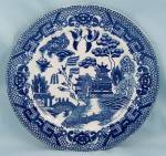 Click to view larger image of Blue Willow, Japan � Bread & Butter Plate (Image1)