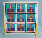 Click to view larger image of The Hollywood Squares TV Game, Ideal, 1974 (Image7)