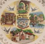 Click to view larger image of Mission San Juan Capistrano, California- Souvenir/ Collector Plate (Image3)