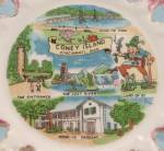 Click to view larger image of Coney Island � Cincinnati, Ohio - Souvenir/ Collector Plate (Image3)