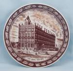 1976 Collector Plate – J.M. Sealts Co – 100th Year