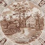 Click to view larger image of 1971 Alfred Meakin Calendar Plate (Image3)