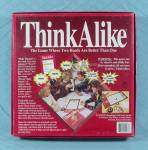 Click to view larger image of Think Alike Game, Golden, 1992 (Image3)