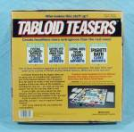 Click to view larger image of Tabloid Teasers Game, Pressman, 1991 (Image3)