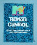 Click to view larger image of MTV's Remote Control Game, Pressman, 1989 (Image7)