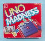 Click to view larger image of UNO Madness Game, Mattel, 1995 (Image2)