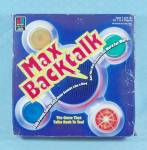 Click to view larger image of Max Backtalk Game, Milton Bradley, 1986 (Image2)