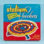 Click to view larger image of Stadium Checkers Game, Schaper, 1952 (Image2)