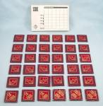 The Secrets Game, Milton Bradley, 1987, Replacement Tokens and Score Pad