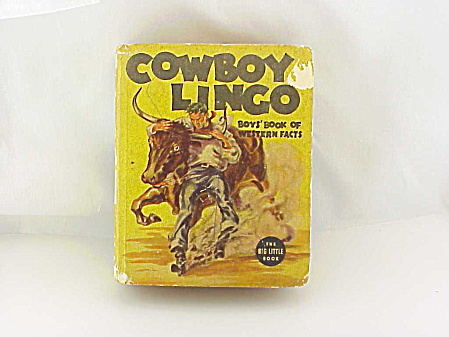 WHITMAN PUBLISHING 1938 COWBOY LINGO BY FRED HARMAN BIG LITTLE BOOK (Image1)