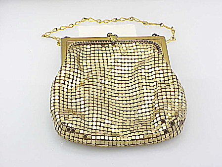 Vintage Whiting & Davis Phi Kappa '05 Sorority Fraternity Mesh Purse