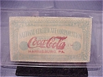 Click here to enlarge image and see more about item 03A009: VINTAGE COCA-COLA EMPLOYEE AWARD VOUCHER DATED 1924