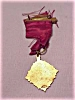 Click to view larger image of VINTAGE 1916 GREENWICH FIRE DEPARTMENT ANNUAL INSPECTION MEDAL (Image3)