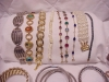 Click to view larger image of LOT OF 20 BRACELETS - SERGIO LUB, STERLING SILVER, RHINESTONE, COPPER, SWAROVSKI (Image4)