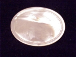 ANTIQUE VICTORIAN EDWARDIAN CARVED MOTHER OF PEARL BROOCH