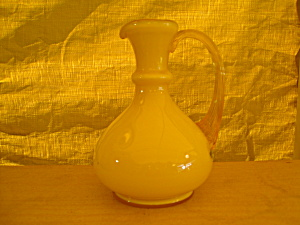 Fenton Buttercup Overlay Pitcher (Image1)