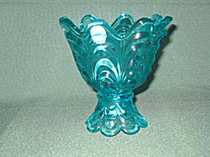 Fenton Drapery Votive In Robin's Egg Blue