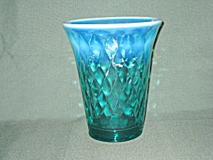 Fenton Robin's Egg Blue Flip Vase (Image1)