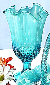Fenton Robin's Egg Blue Swung Vase (Image1)