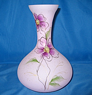 Fenton Lavender Opaque Winsome Garden Vase (Image1)