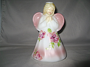 Fenton Angel Girl in Opal Satin  (Image1)
