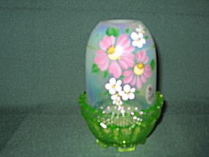 Fenton Key Lime Floral Fairy Light (Image1)