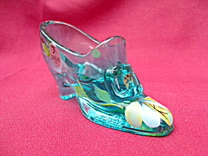 Fenton Robin's Egg Blue Buckle Shoe